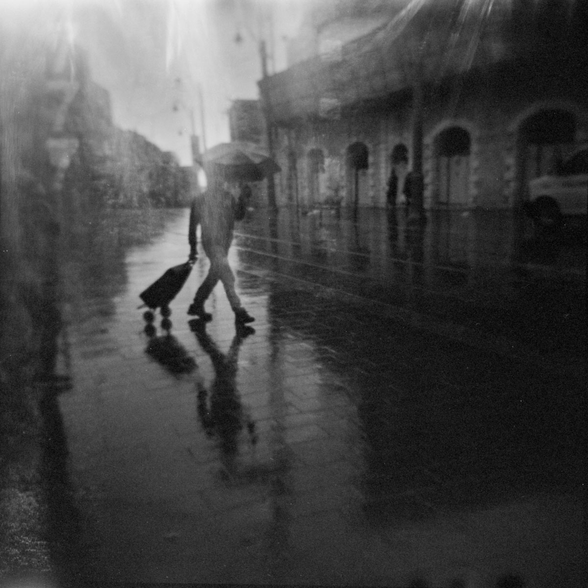 in Jerusalem with Holga - plastic medium format camera