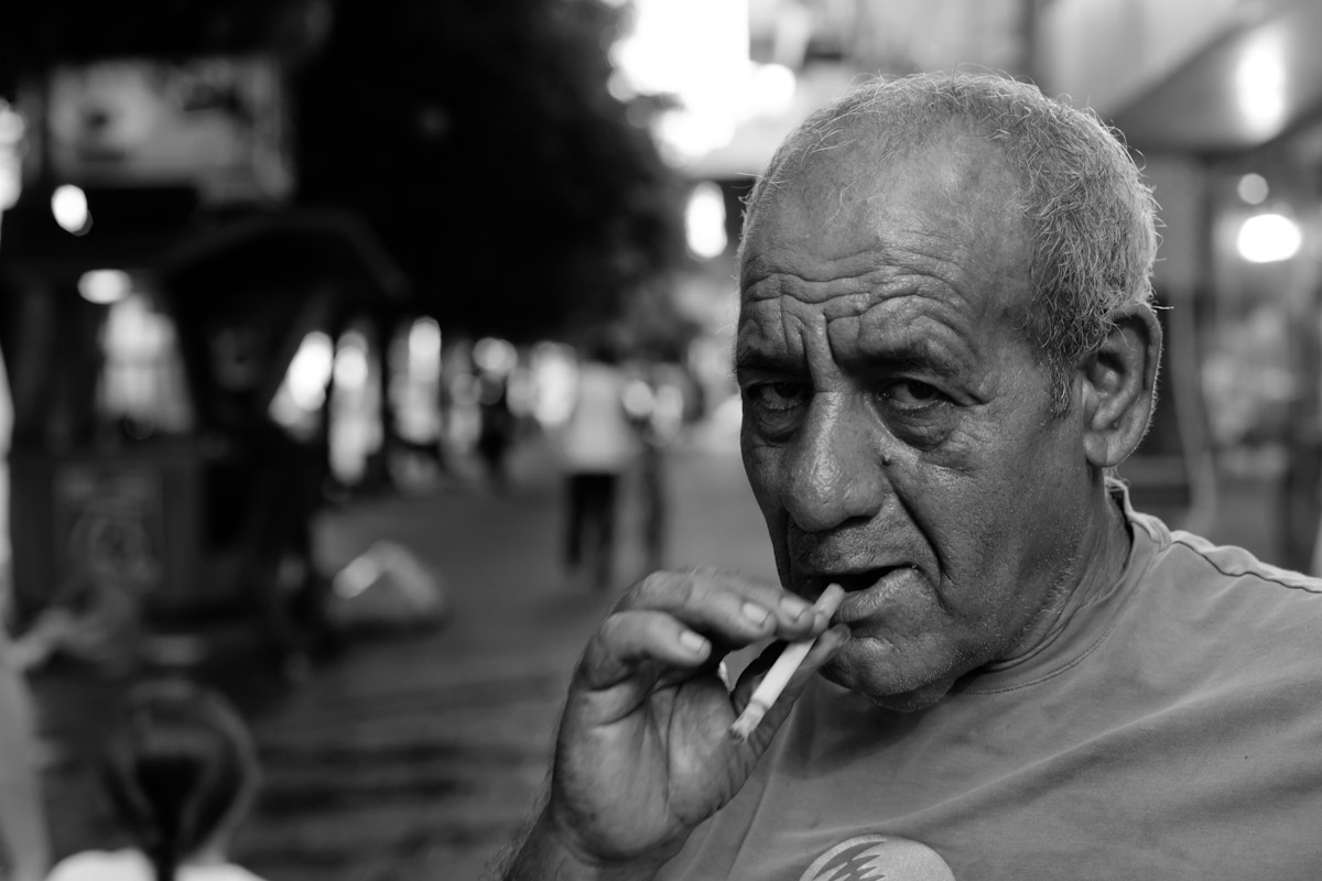 Street portraits of absolutely strangers