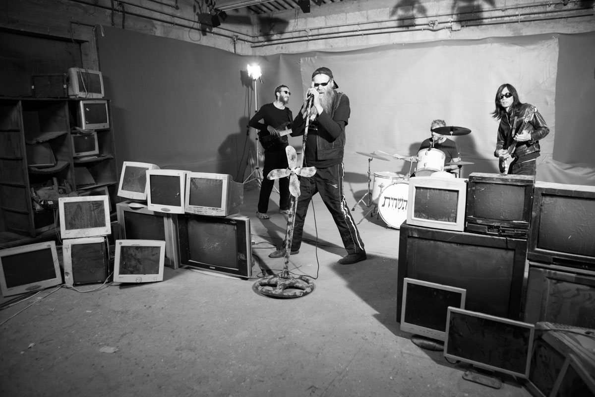 Wanton destruction - behind the scenes for a video clip