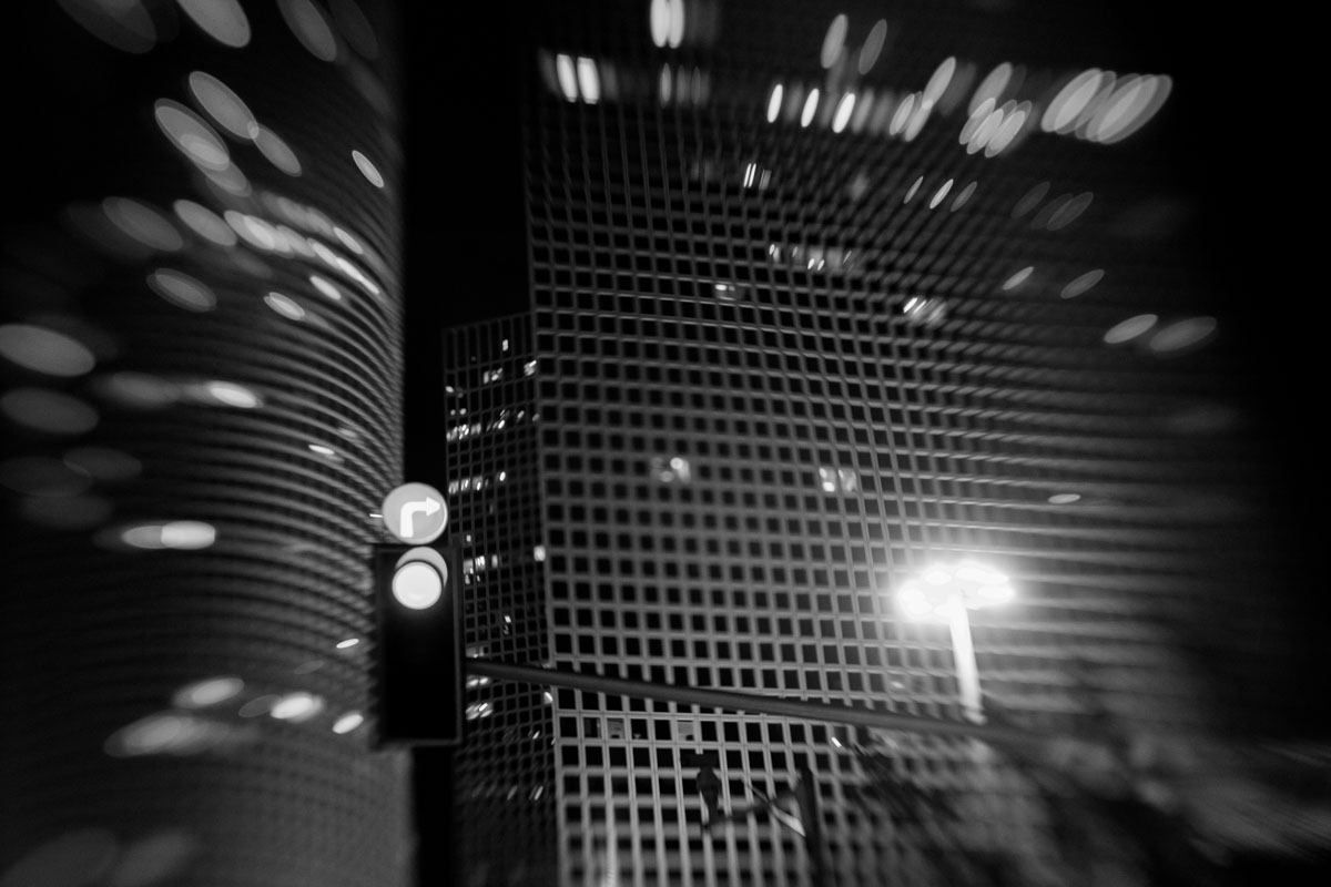 a few nights with Lensbaby Composer - black and white part