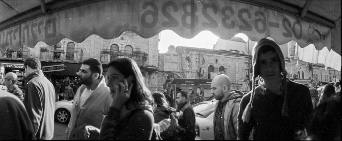 Silberra Pan160 exposed with Horizon 202 in Jerusalem - part i