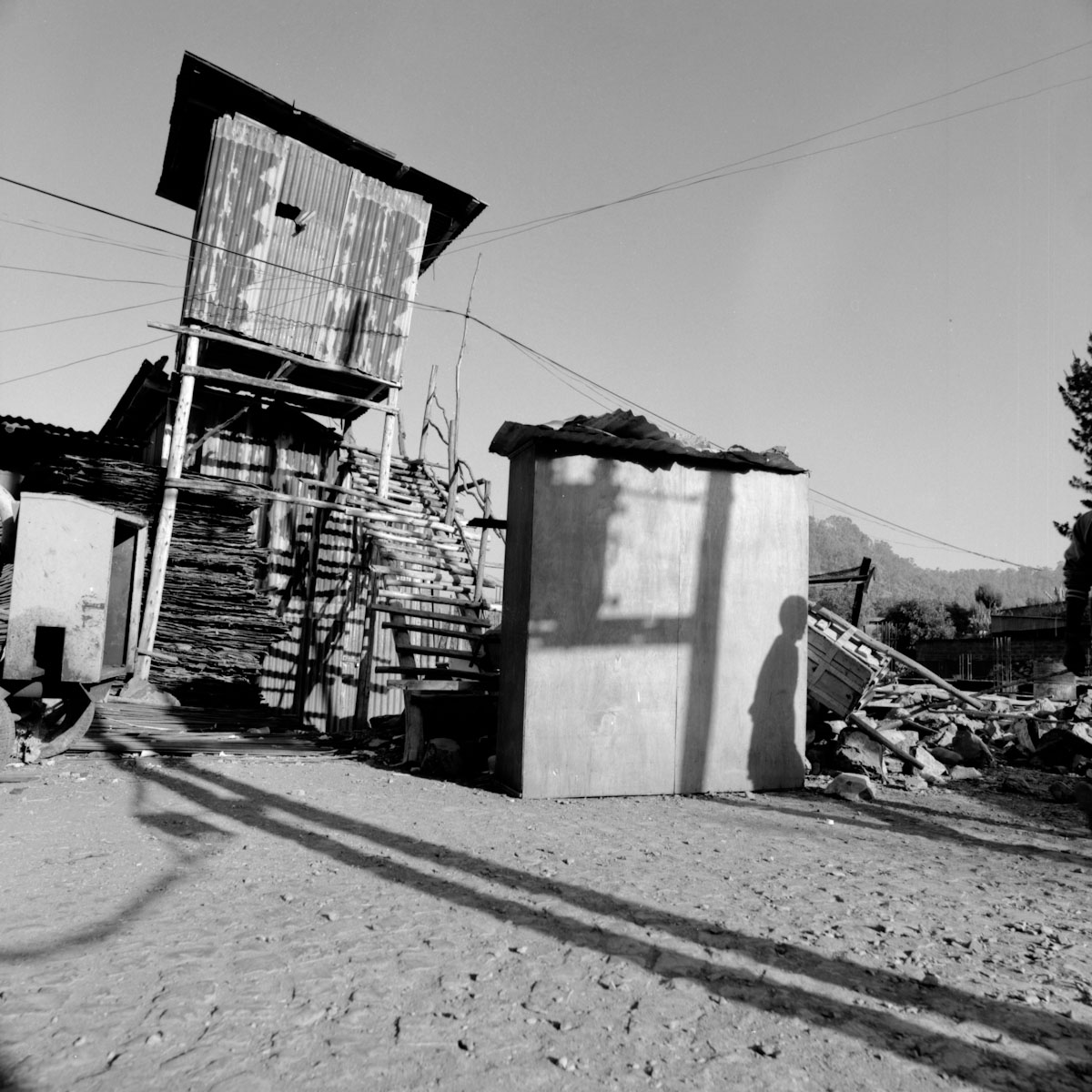 walking with Hasselblad - last day in Gondar, Ethiopia