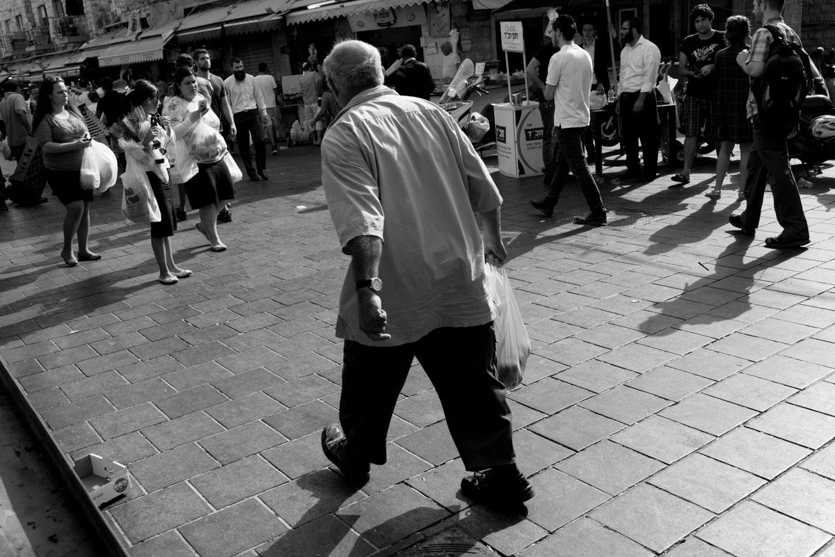 Friday walk through Mahane Yehuda market in Jerusalem iii