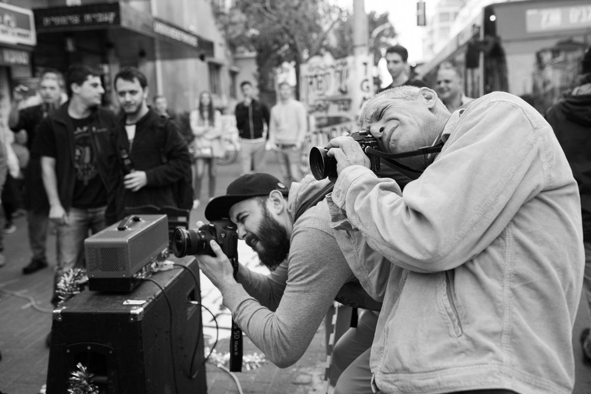 The Great Machine - Street performance - Demonstration - to warm-up Ozzy Osbourne