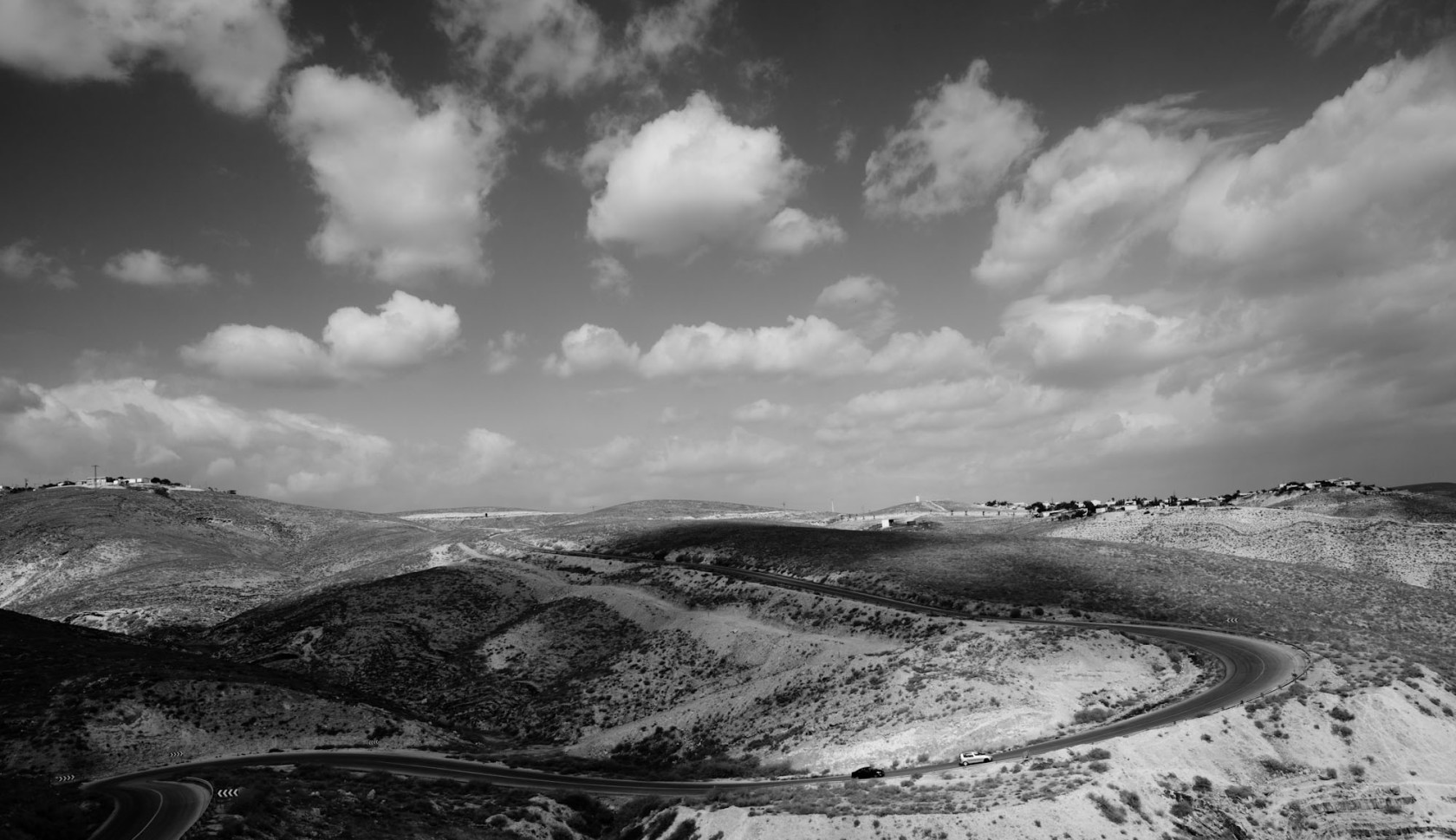 monochromatic nature, Jerusalem, dead sea area - Victor bezrukov