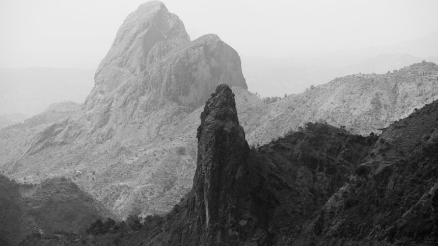 Wild nature of Ethiopia in black and white – part i