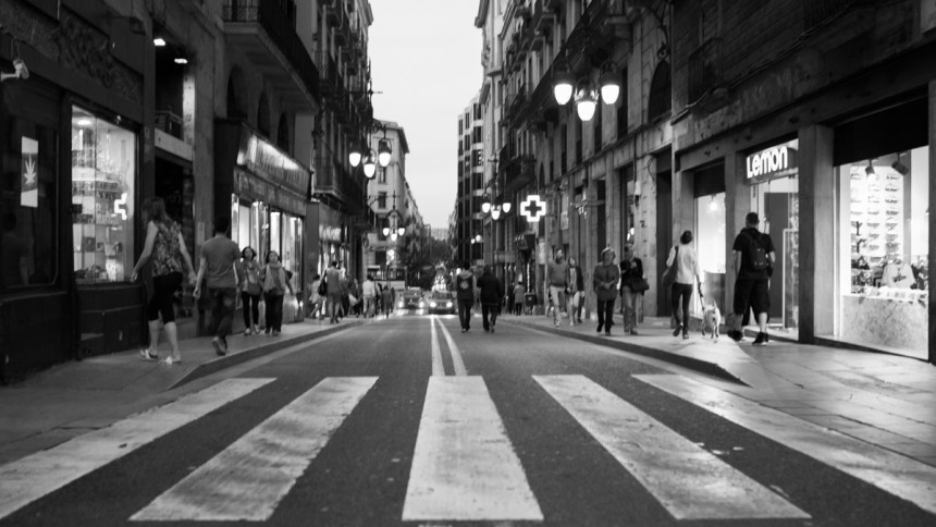Barcelona 2017 – same subject and different objects