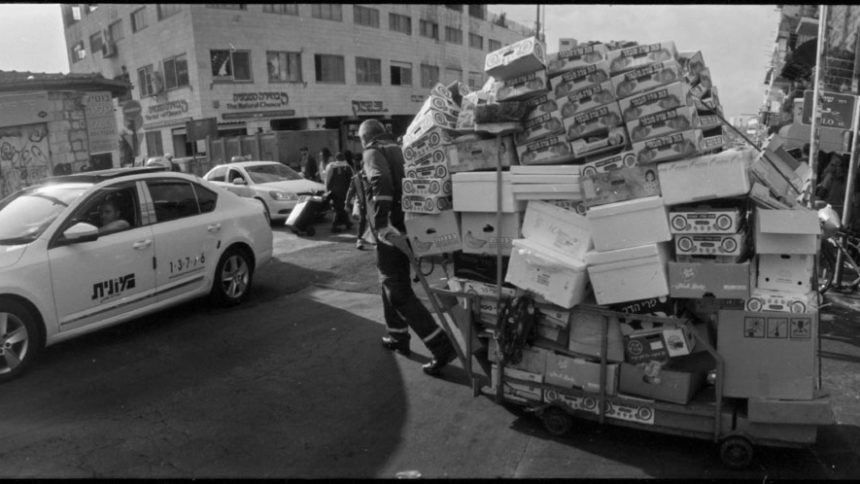 Silberra Pan160 exposed with Horizon 202 in Jerusalem - part ii