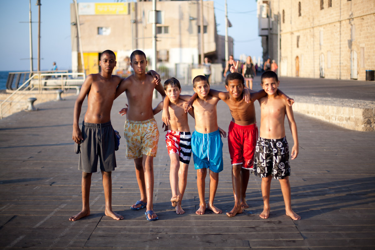 jumping devils of Jaffa Port
